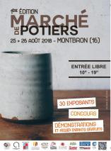 Affiche marche de potiers montbron 2018
