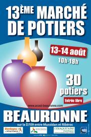 Beauronne marche potier affiche 2016