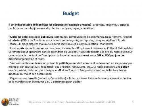 Financement et budget 3