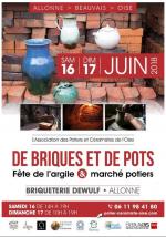 Screenshot 2018 5 13 exposition marche de potiers a la briqueterie d allonne